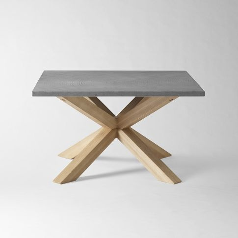 This is light oak legs crossed over each other.This is set with a smooth granite  top. Florida Room - WE Axis coffee table - 25+ Best Ideas About Granite Coffee Table On Pinterest Faux