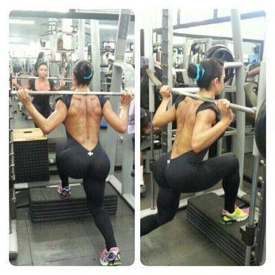 smith machine leg workout