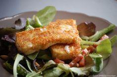 Onze Franse Keuken: Salade met gebakken Brie