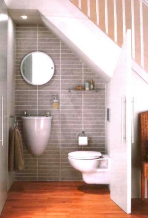 A small second loo is better than no second loo at all!