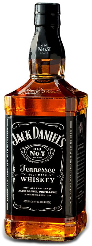 Old No. 7   Jack Daniel's Tennessee Whiskey    I love Jack and Coke. What can I say.
