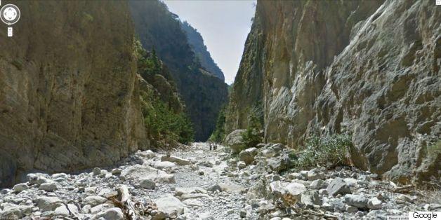 Εξερευνήστε την Ελλάδα με λίγα κλικ. «Ταξιδεύοντας» στο Φαράγγι της Σαμαριάς και τα Μετέωρα με το Google Street View