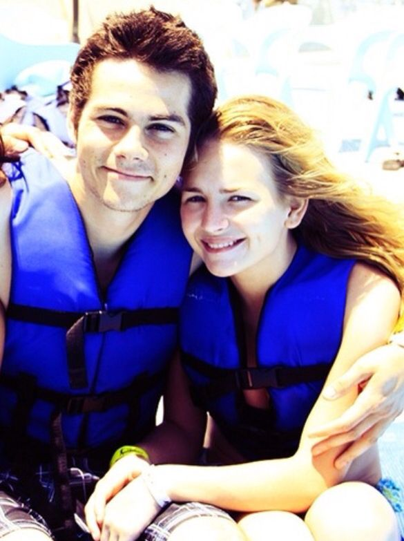 Dylan O'Brien and Britt Robertson