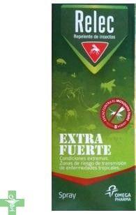 #RelecExtraFuerte es un #repelentedeinsectos para la protección de la piel de las picaduras. http://www.parafarmaciafilipinas.com/relec-extra-fuerte-50-spray-repelente-75-ml.html