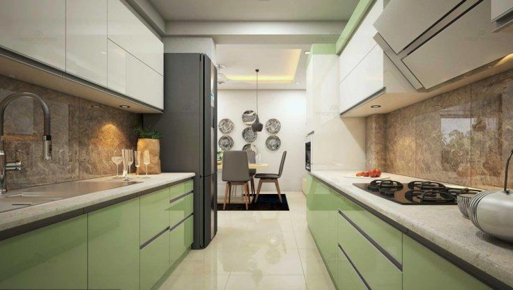 Modern Kitchen Design 10 Simple Ideas For Every Indian Home With Images Parallel Kitchen Design Kitchen Modular Modern Kitchen Design