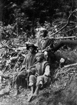 Mapuches Lugar: Araucanía Fotógrafo: Valck Año: 1890