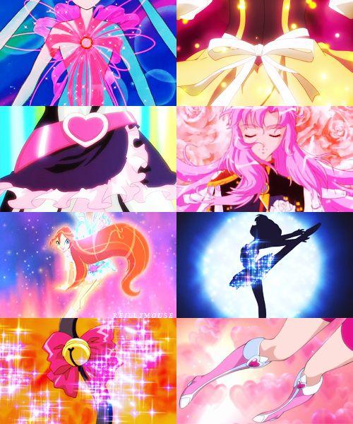 Magical Girl Collage 2 - Sailor Moon, Futari wa Pretty Cure, Winx Club, Tokyo Mew Mew, Puella Magi Madoka Magica, Revolutionary Girl Utena, Doki Doki Pretty Cure