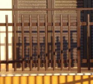 pannelli prefabbricati di acciaio zincato per recinzioni senza pretese.