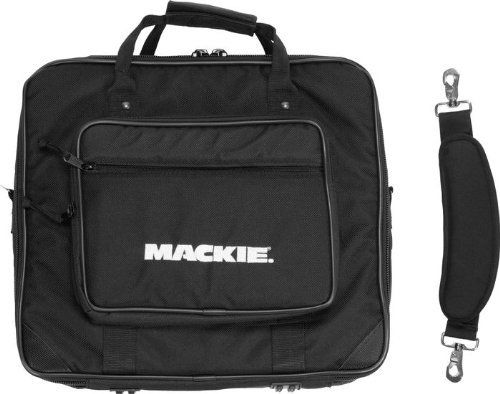 Mackie 1402VLZ Pro Or VLZ3 Mixer Bag by Mackie. $44.99. Carry and protect your VLZ Pro or VLZ3 Mackie mixer with this high impact tote bag. The high-density rigid internal foam offers drop protection for your Mackie mixer mixer. Complete with embroidered Mackie logo on elegant black 1500 Denier nylon, padded shoulder strap and sides, and heavy-duty zippers.