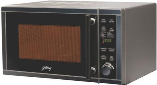 Godrej 20GA3MKZ 20 L Grill Microwave Oven(Silver)