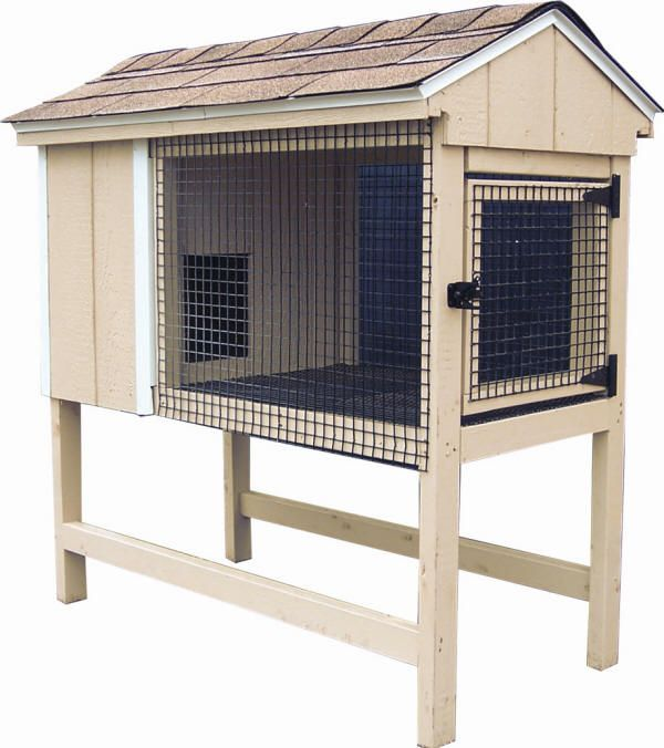 Rabbit hutch designs indoor woodworking projects plans for Rabbit hutch designs