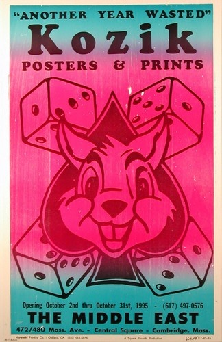 Another Year Wasted Poster Frank Kozik Art Show Print