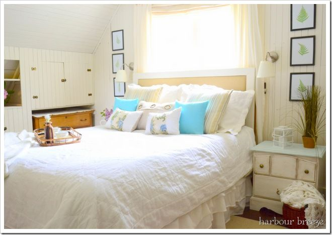 Beach-themed-bedroom-bedrooms-blue-green-lavender-accents1