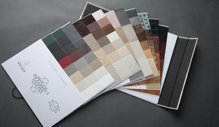 Cartelle colori pelle arredamento. gammatura colori arredocasa