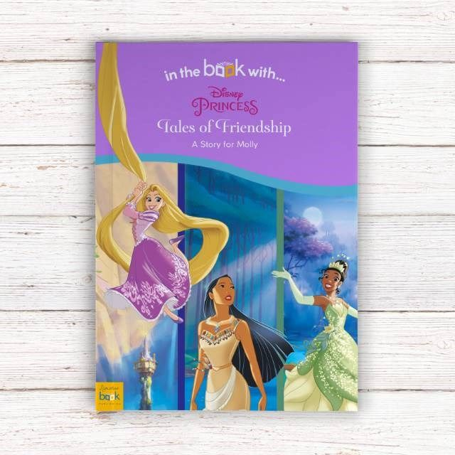 Personalised Children's Book - Disney Princesses' Tales of Friendship | GettingPersonal.co.uk
