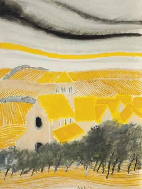 ANDRE BRASILIER , b.1929 French painter
