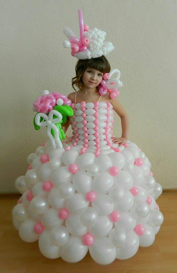 Cute balloon dress