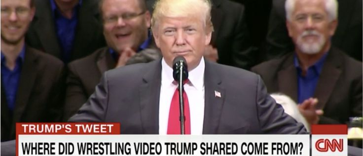 Trump's Body-Slam Tweet Drives Four Days Of CNN News Coverage [VIDEO] - The Daily Caller
