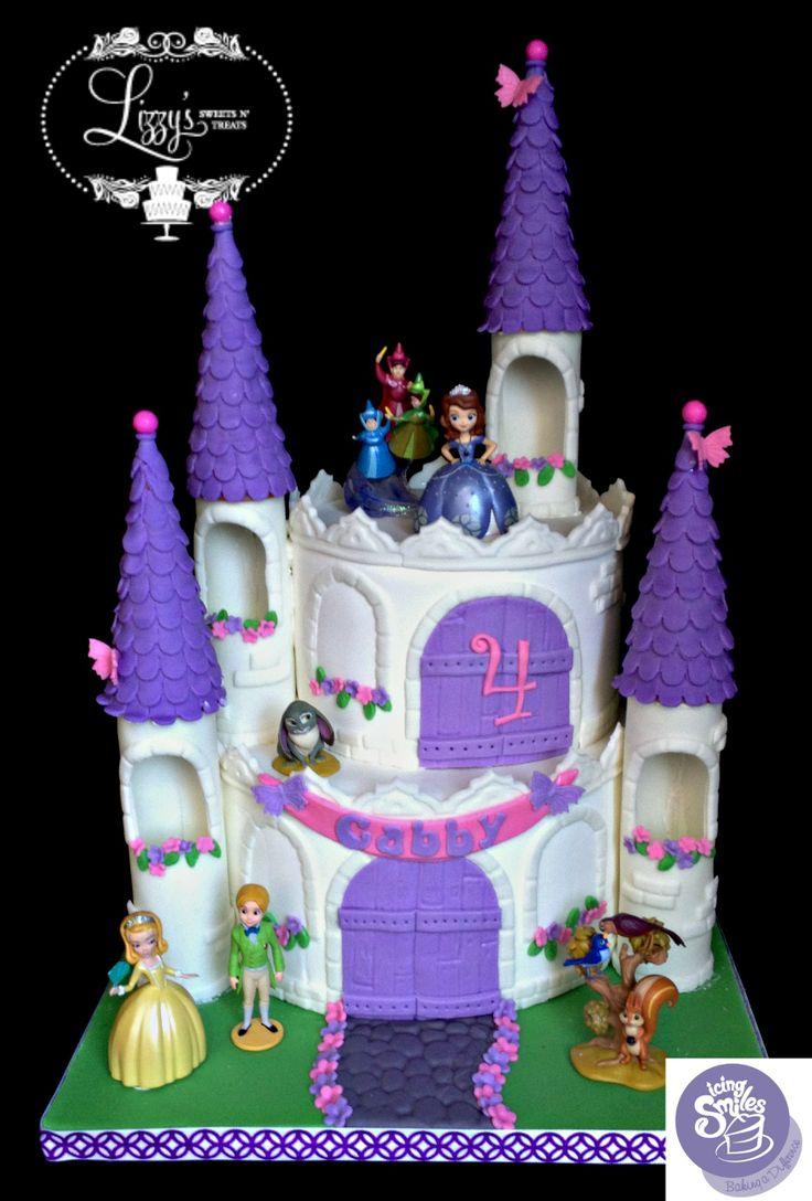 28 best sofia cake images on pinterest | sofia cake, princess