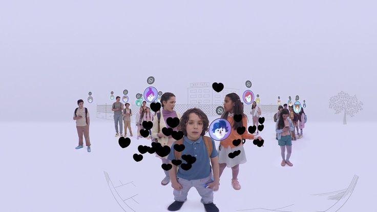 Asignatura Empatía VR - #ByeByeBullying  Proyecto de Samsung en colaboración con el Ministerio de Educación contra el Bullying.  El vídeo de Realidad Virtual junto con unas gafas Samsung Gear permiten a los niños vivir en primera persona una situación de bullying