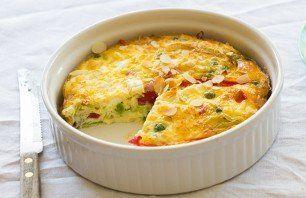 Vers van de Teler | Onze recepten | Frittata met rode paprika, prei en feta