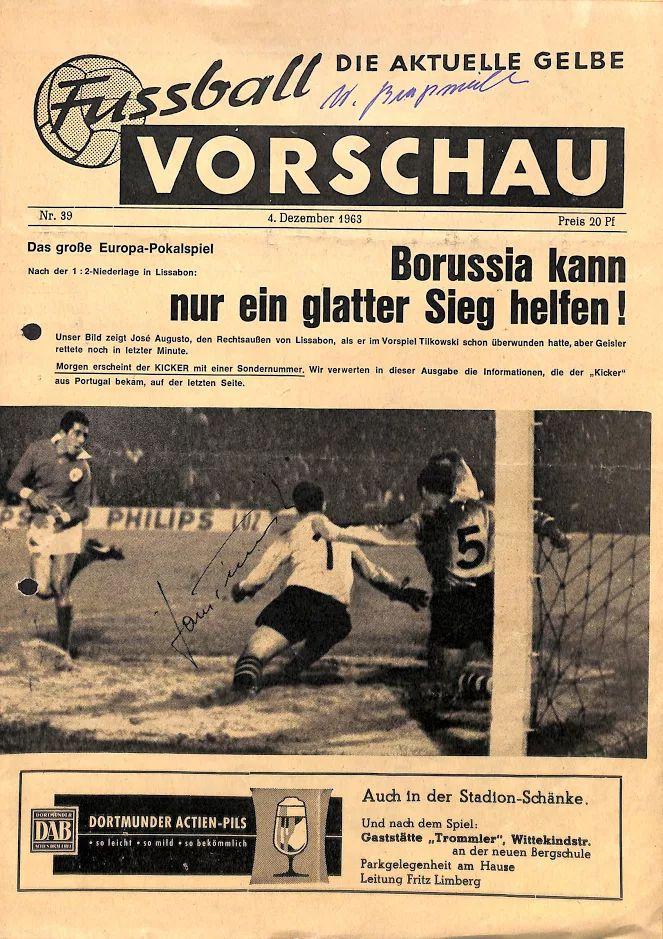 BVB – Benfica Lissabon 5:0: Das unvergessliche Spiel des Jahrhunderts