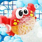 Addmos Badespielzeug Bubble Maker Auto Crab Bath Bubble Machine mit Musik Baby   – Baby Essentials