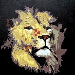 Mighty Lion! Snygg handmålad lejontavla för dig att hänga upp i hemmet/kontoret. Få din dagliga dos energi samt motivation varje gång du går förbi denna storslagna canvastavla!  Länk till produkt: http://www.feelhome.se/produkt/mighty-lion/  #Homedecoration #Canvas #olipainting #art #interior #design #Painting #handpainted #interiordesign #canvastavla #canvastavlor #djur #lejon #safari #vardagsrum #kontor #modernt #natur