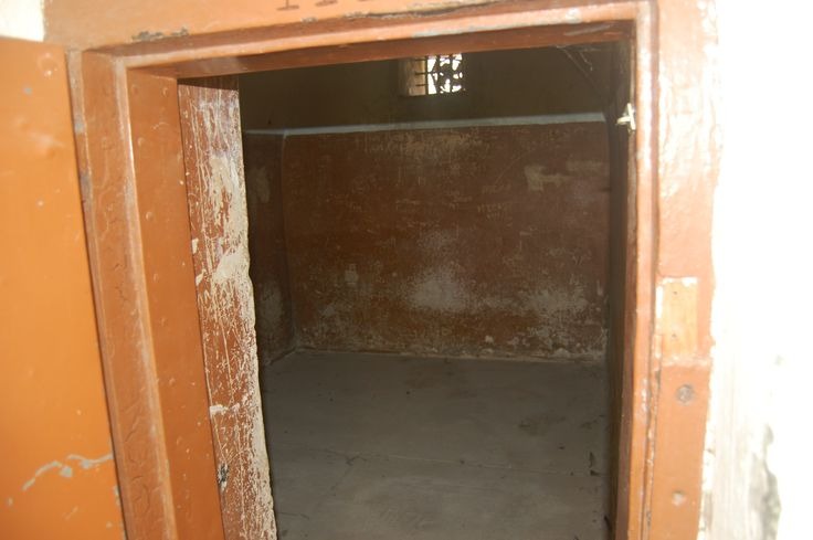 A cell at the Old Jail in Somerset Street.