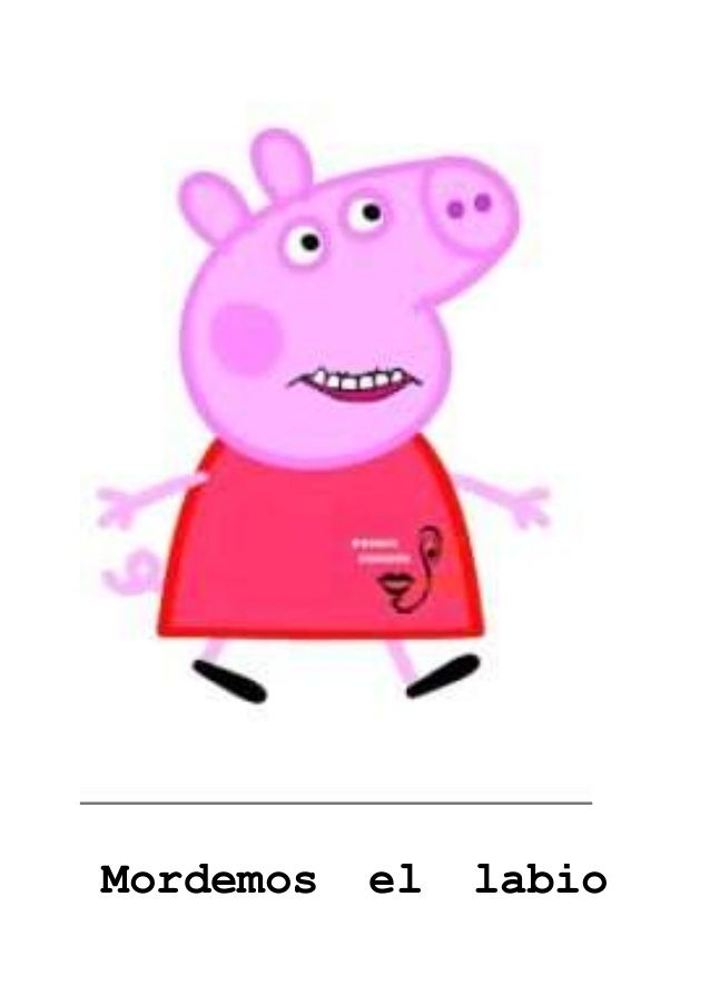 Praxias Pepa Pig