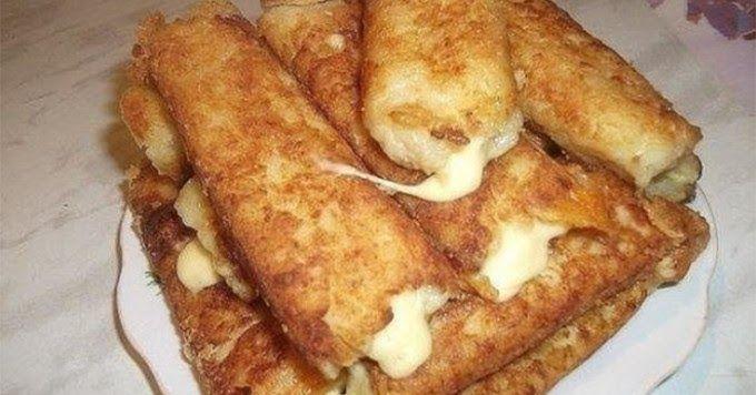 Zutaten 5gegarte Kartoffeln 2Eier 100 gSemmelbrösel 100 gbeliebiger Schnittkäse Öl für die Pfanne Salz und Pfeffer Zube...
