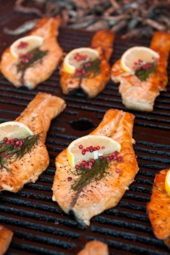 Salmon Finnish style (Suolattu Kirjolohi)