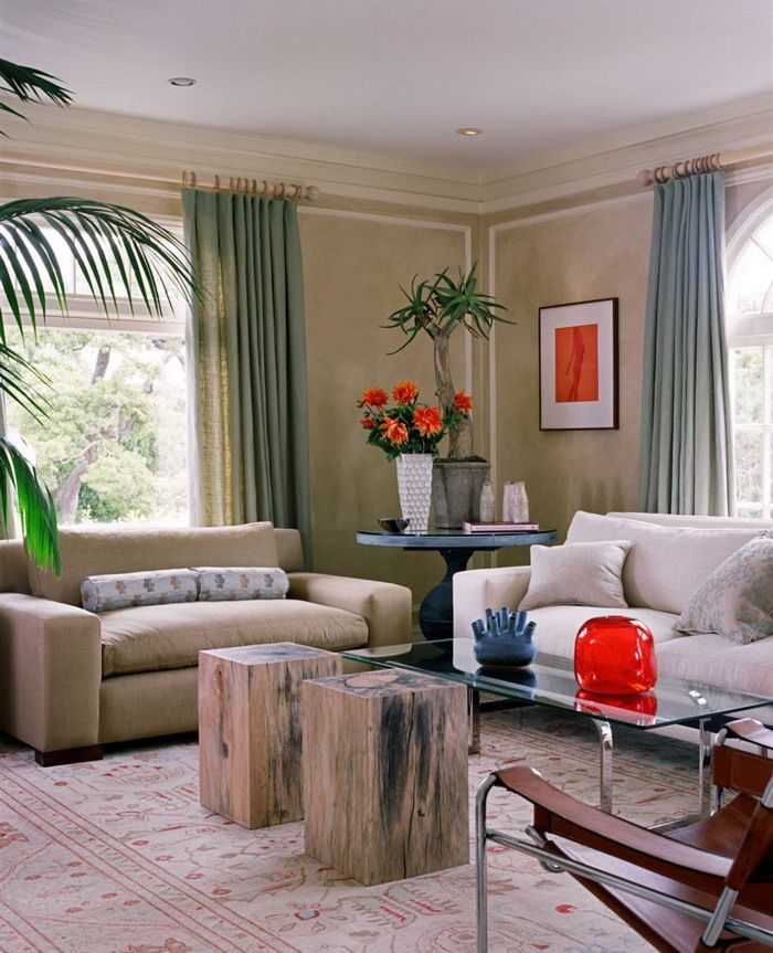 Charming Nice Interior For Small Living Room Ideas With Tropical Sense Of Indoor Tree Part 16