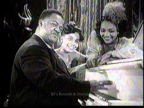 MEADE LUX LEWIS.  Roll Em.  1940's Boogie Woogie Jazz Piano.