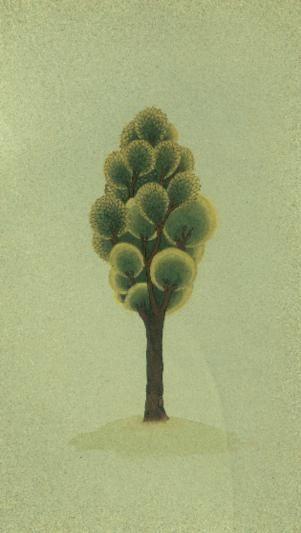 Cahide Keskiner - Minyatür Sanatında Doğa Çizim ve Boyama Teknikleri Hünernâme'den alınan bir ağaç örneğinin aşamalı olarak renklendirilmesi