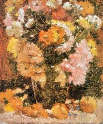Crizanteme - Stefan Luchian