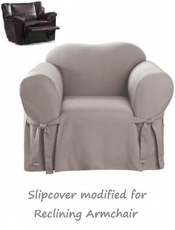 Cotton Recliner Chair Covers Ikea Cover Replacement Reclining Slipcover Gray Adapted For Armchair Reclinerchairs