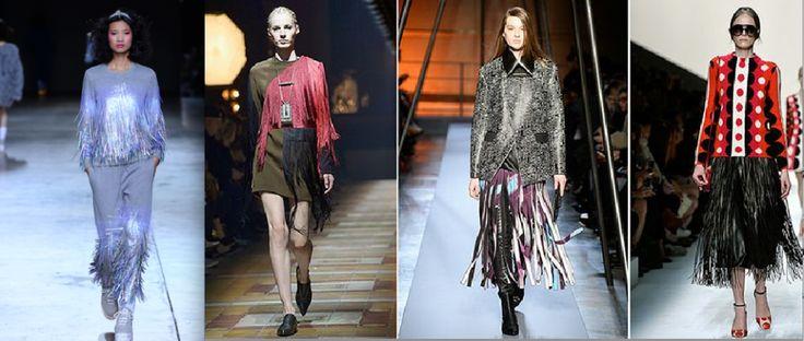 Fringe trend fashion aw14 Cent magazine