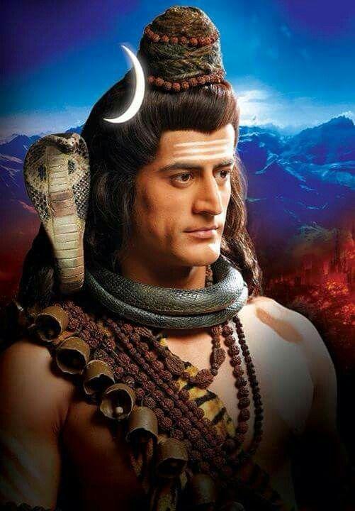 Mohit raina indian actor as shiv in his show.. Devon ke dev mahadev