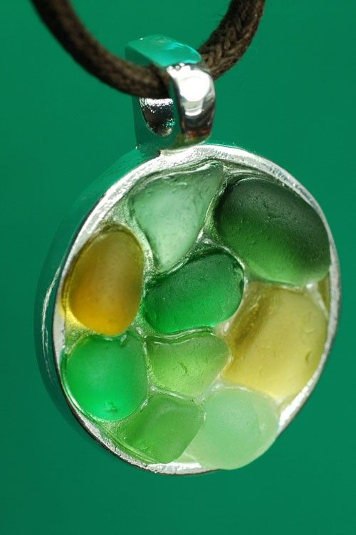 Meadow  - Sea Glass Pendant. $35.00, via Etsy.