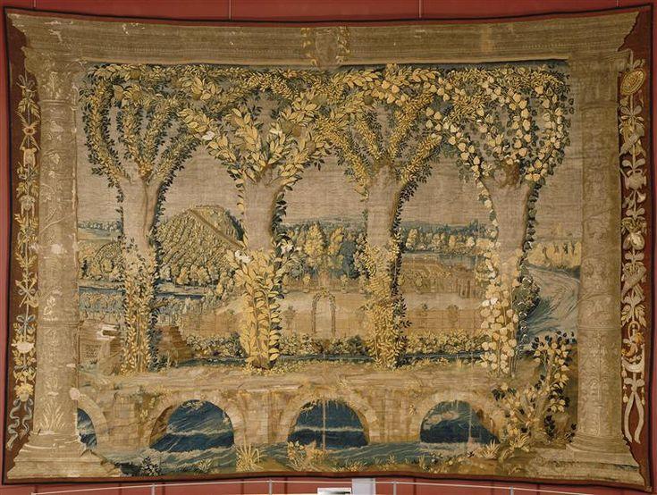 Réunion des Musées Nationaux-Grand Palais - Tenture Les Métamorphoses d'Ovide : Les Jardins Dossi, Battista di Lutero (vers 1480-1548) (dit) (d'après)