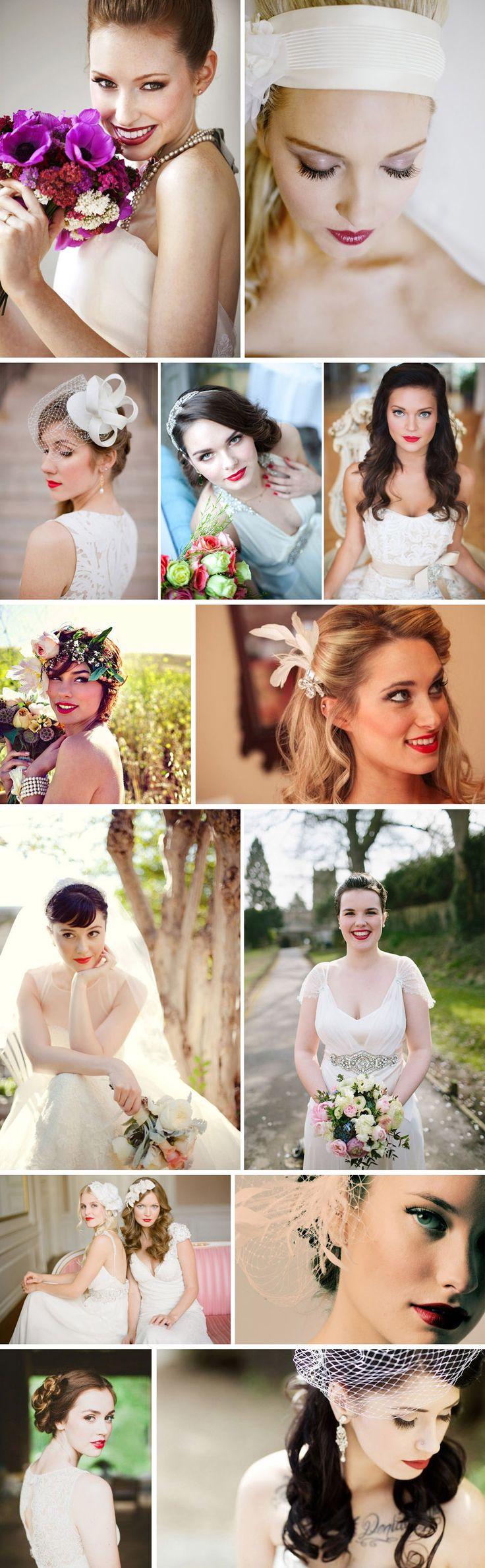 Lábios Vermelhos | Mariée: Inspiração para Noivas e Casamentos