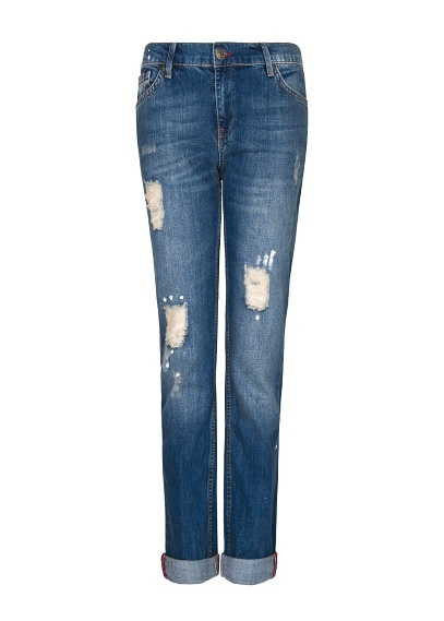Robe top ample mango jeans boyfriend style and style for Robe jean mango