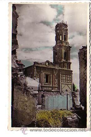 BELCHITE (zaragoza).- IGLESIA DE SAN AGUSTIN, RUINAS
