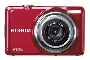 Cámara digital compacta Fujifilm JV 300 color rojo  $69.99