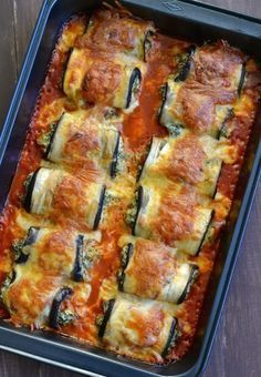 Etli Patlıcan Rulo More