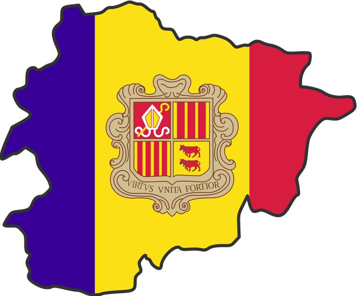 Andorra: Smallest Country In The World.  Boardered by Spain and France.