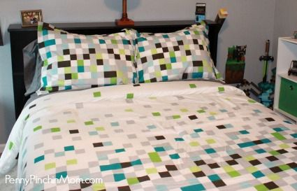 minecraft bedding