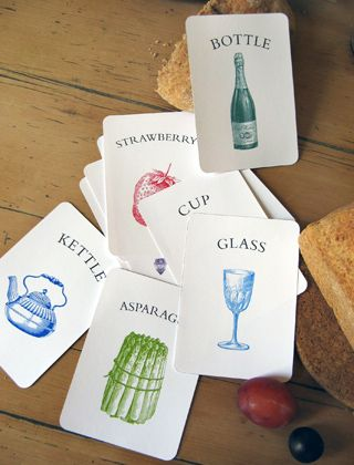 Printable Vocabulary Flash Cards, Victorian Kitchen Vocabulary Flash Cards
