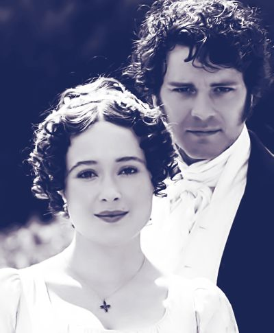 Just so we're all clear, Colin Firth is the most perfect Darcy there could be.